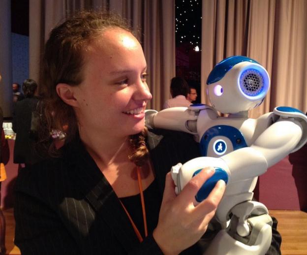 Le robot Nao et moi
