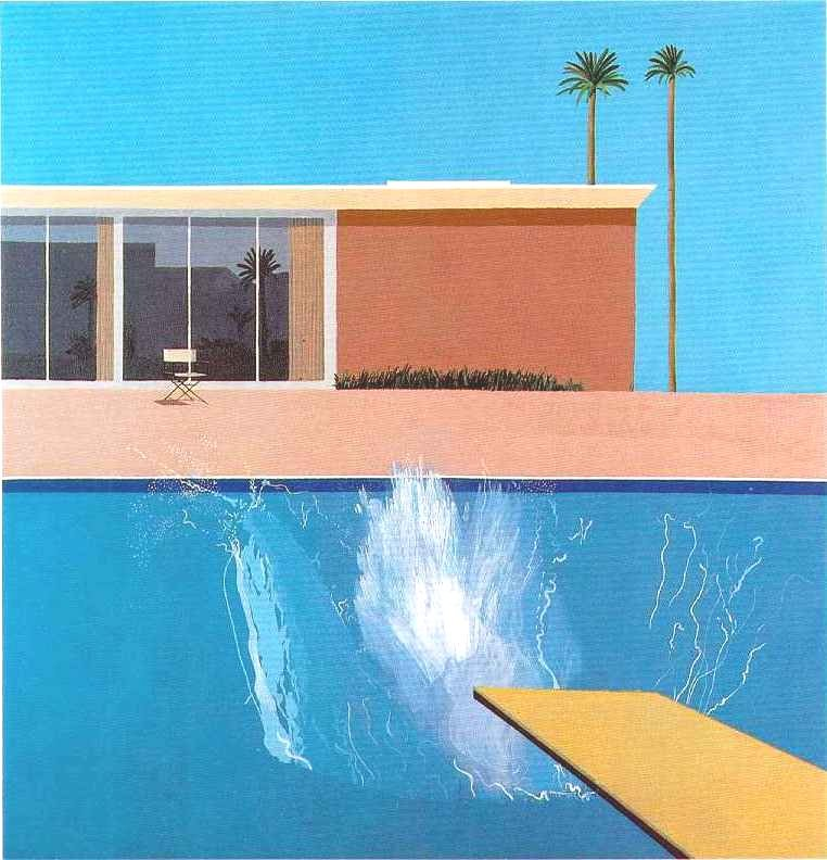 David Hockney - Bigger Splash (1967)