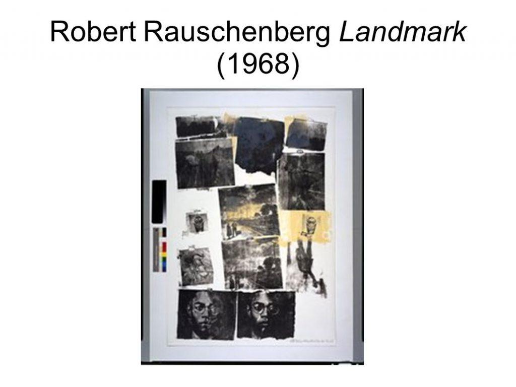 Robert Rauschenberg Landmark (1968)