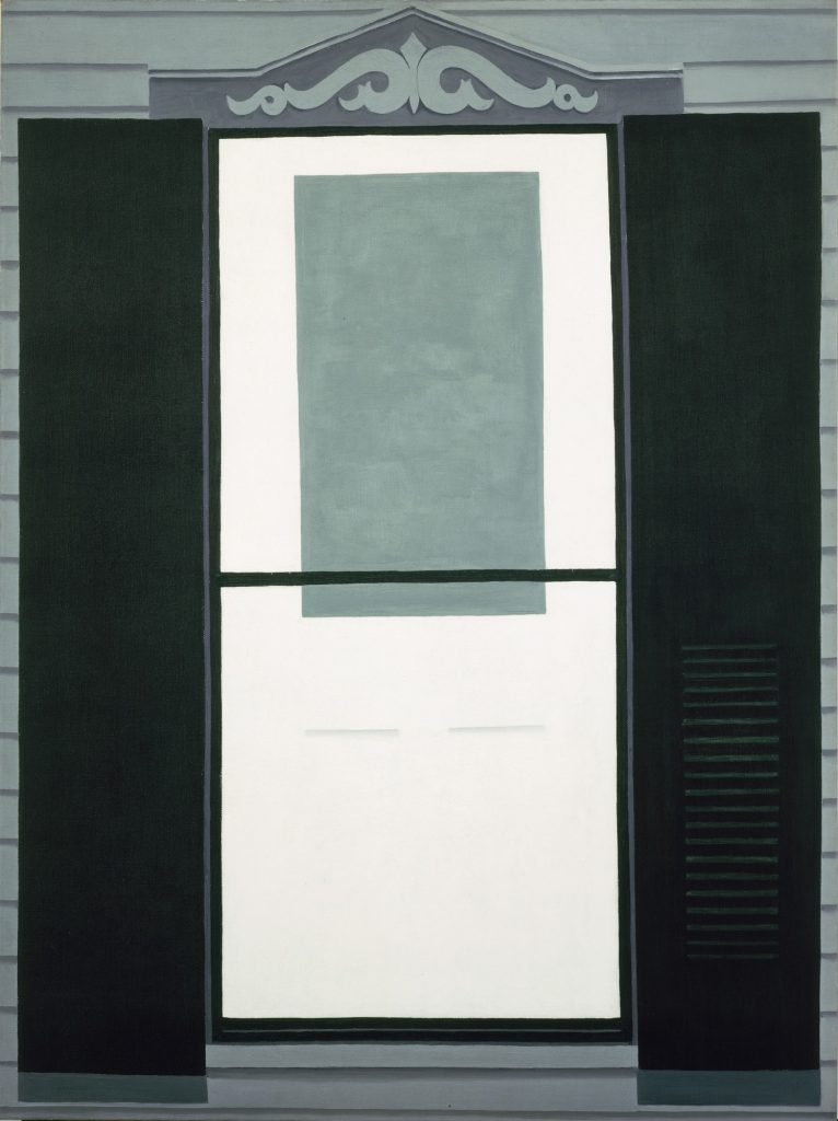 Georgia O'Keeffe, Farmhouse Window and Door (1934)