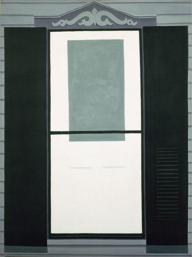 Georgia O'Keeffe, Farmhouse Window and Door (1934)