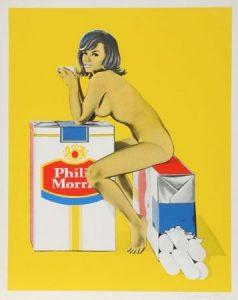 Tobacco Rhoda – Mel Ramos- 1965