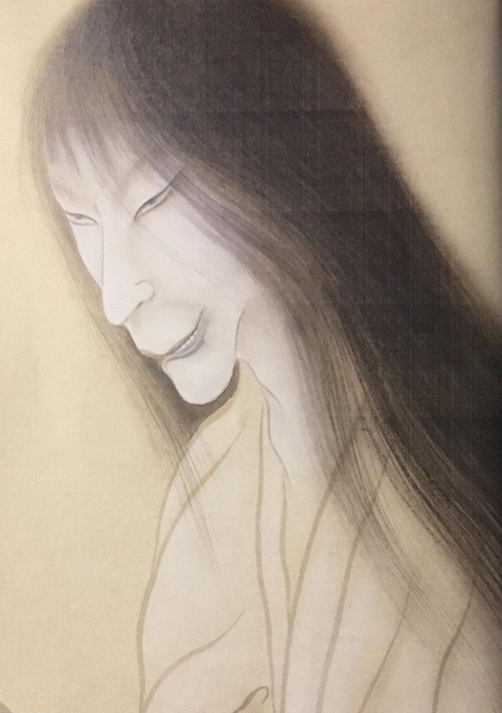 détail fantôme, Iguchi Kashuu, 1ère moitié XXe, Musée Quai branly