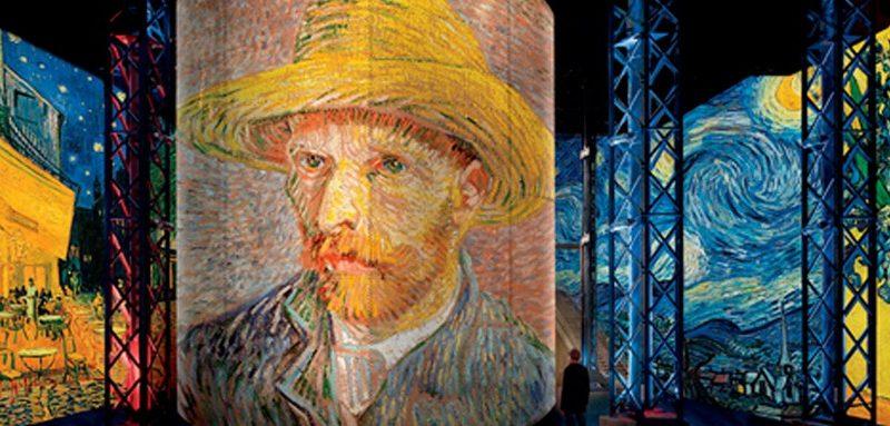 Exposition Vincent Van Gogh à l'Atelier des Lumières