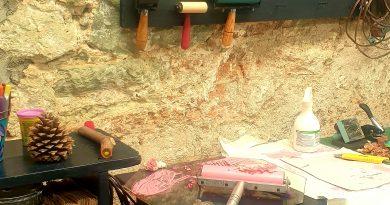Atelier de gravure à Oaxaca