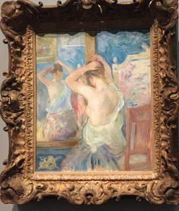 toilette blanc camaïeu expo berthe morisot musée d'orsay