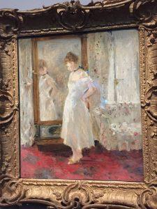 toilette blanc canapé expo berthe morisot musée d'orsay