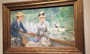 barque soleil après-midi expo berthe morisot musée d'orsay