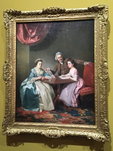 Johann Zoffany, Mr et Mrs Dalton avec leur nièce Mary de Heulle, vers 1765-1768