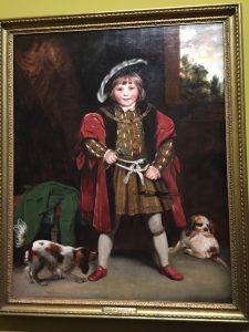 Joshua Reynolds, Master Henry Crewe, en Henry VIII, vers 1775, Londres, collection particulière en dépôt à la Tate Britain