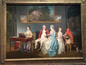 Johann Zoffany, Le Colonel Blair avec sa famille et une servante indienne, 1786, Londres, Tate