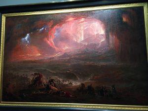 John Martin, La Destruction de Pompéi et d'Herculanum, 1822, Londres, Tate