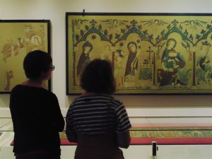 Broderie Moyen Âge Cluny Art Textile Paris Exposition Art textile