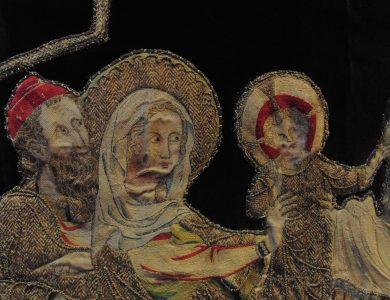 L'art en broderie au Moyen Âge à Cluny