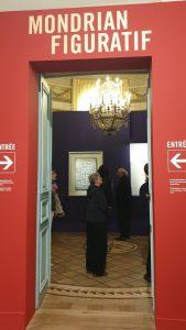 Entrée de l'exposition.