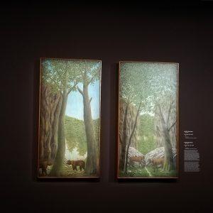 Ours dans la forêt, Bauchant