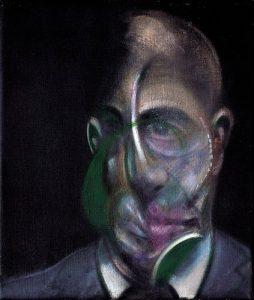 portrait of Michel Leiris 1976