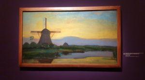 Moulin dans le crépuscule. 1907-1908