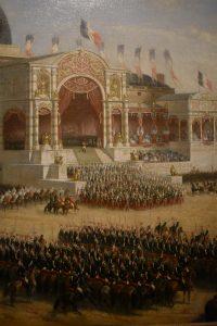 Distribution des Aigles par le prince-président au Champs de Mars