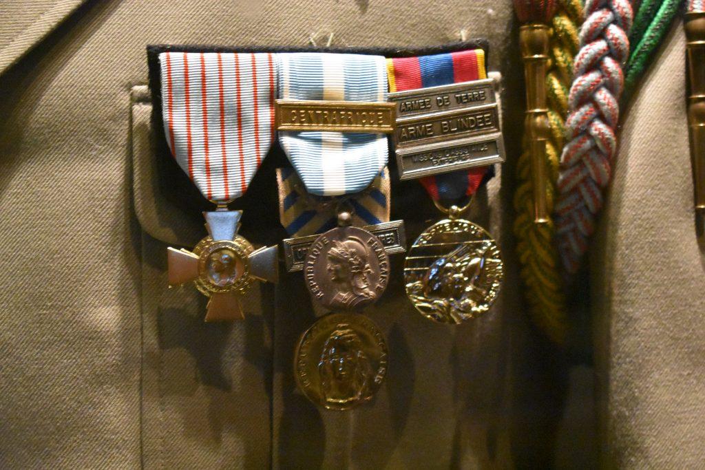 Détail des médailles