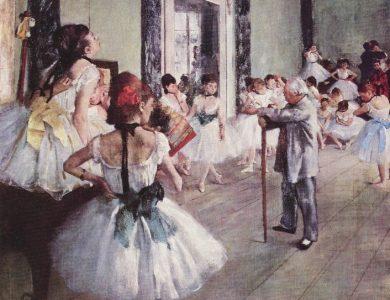 埃德加·德加: 歌剧院主题画展览