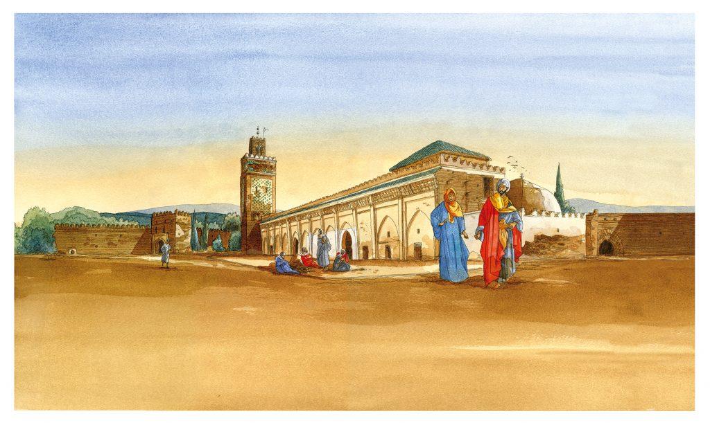"""Album """"Les Voyages d'Ibn Battûta"""""""