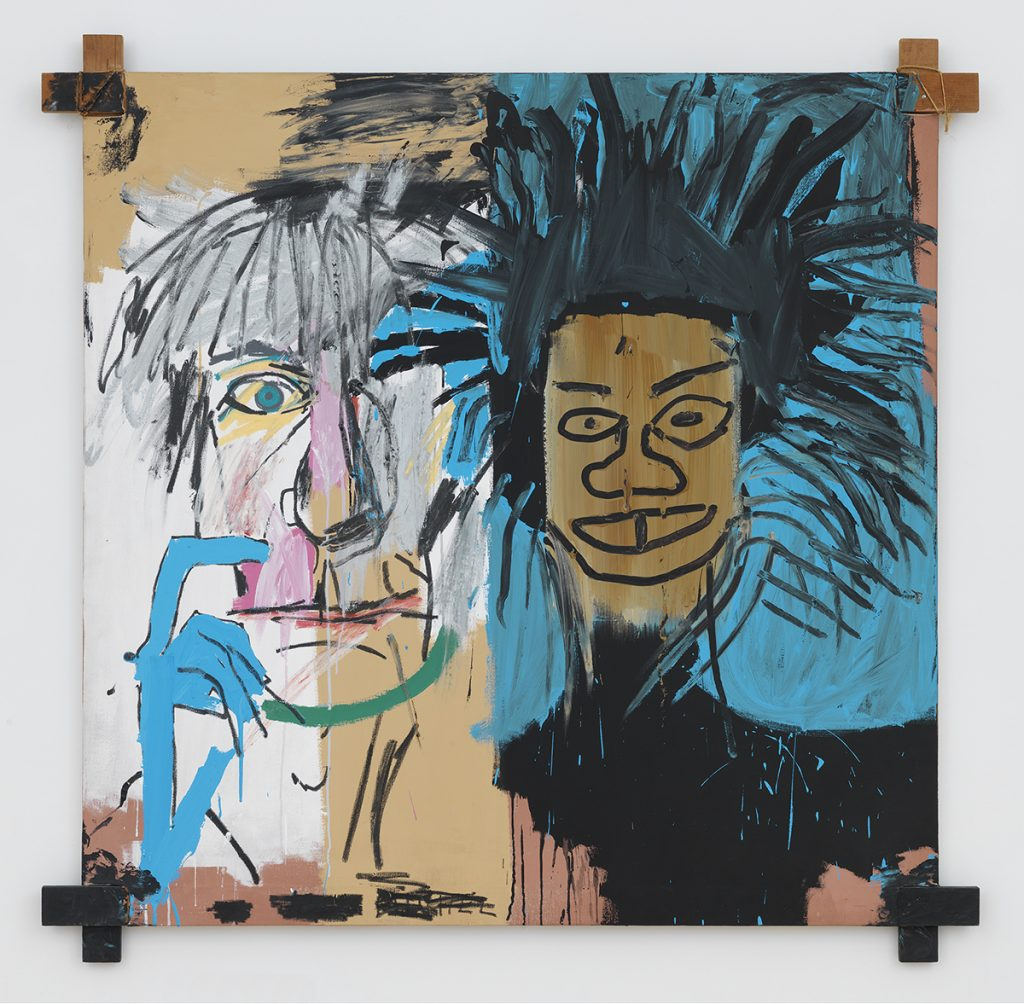 Dos Cabezas (two Heads) -JM Basquiat - 1982