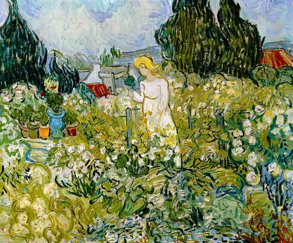 Marguerite Gachet dans son jardin - Van Gogh - juin 1890 - Musée d'Orsay
