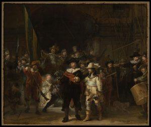 La Ronde de nuit, Rembrandt, 1642, Rijksmuseum, Amsterdam