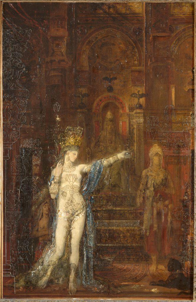 Salomé, Moreau, 1870's, musée Gustave-Moreau
