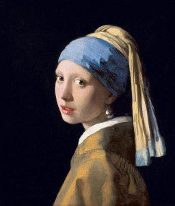 La Jeune Fille à la perle, Vermeer, vers 1665, Mauritshuis, La Haye