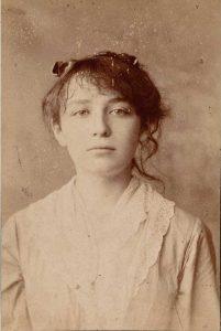 Portrait de Camille Claudel à 20 ans, César, 1884, photographie, musée Rodin