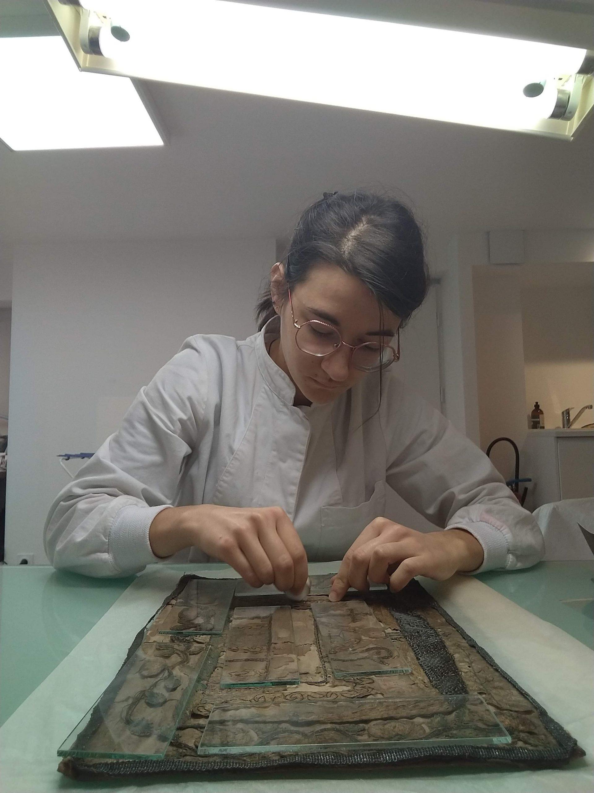 Blandine Dadillon restauratrice institut national du patrimoine