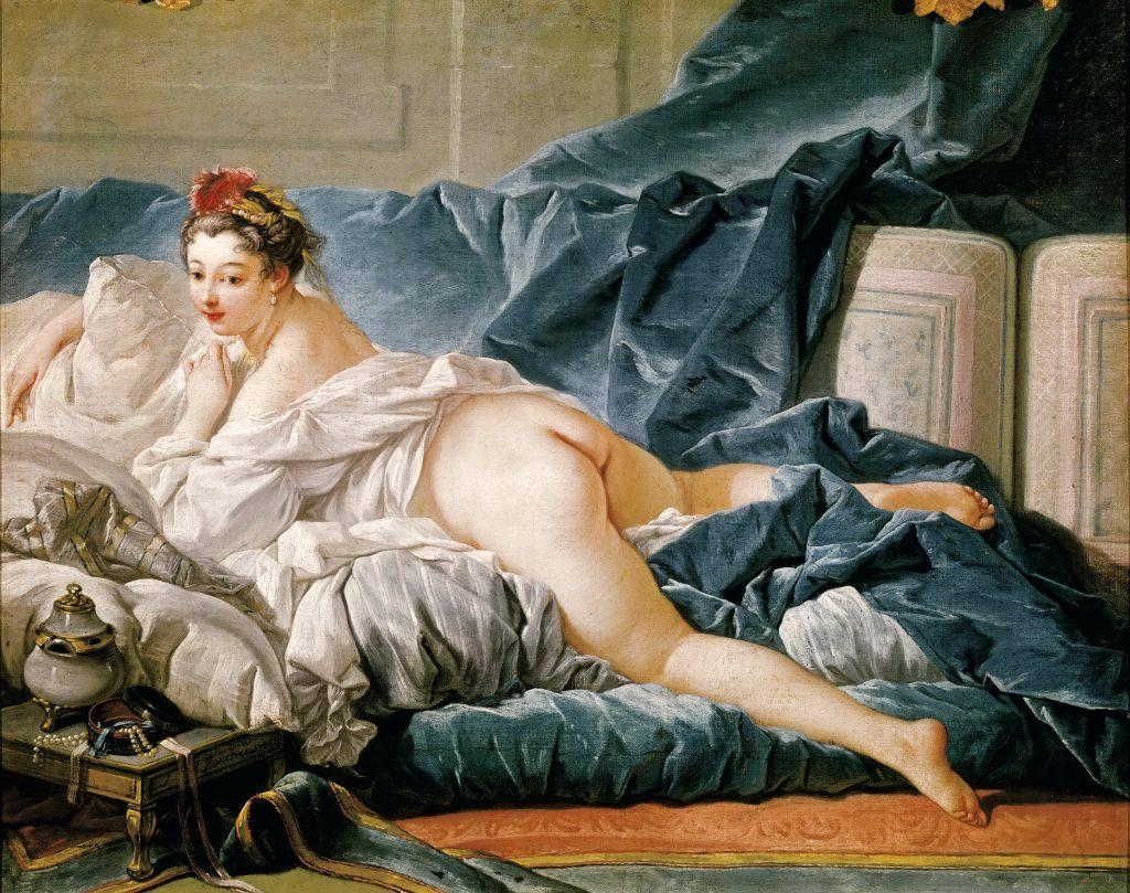 François Boucher (1703-1770), L'Odalisque brune, 1745, huile sur toile, Paris, musée du Louvre, département des Peintures © RMN-Grand Palais (musée du Louvre)