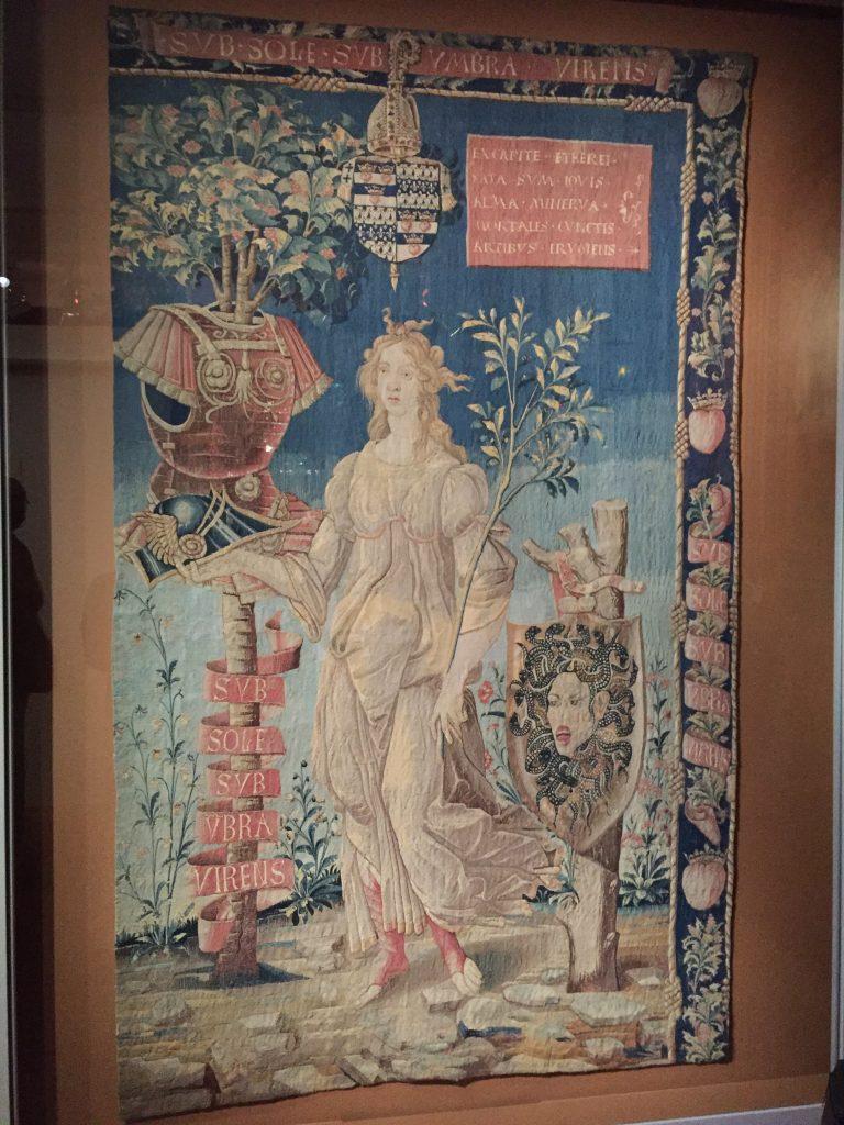 Manufacture française d'après Botticelli, Minerve pacifique, vers 1491-1500, collection particulière
