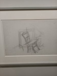 Rol-Tanguy par Giacometti au Musée de la Libération de Paris